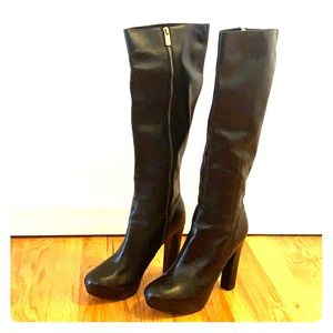 Michael Kors Tall Black Boots